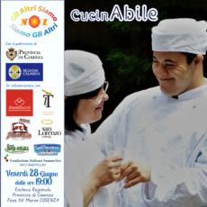 28 giugno CucinAbile a Cosenza