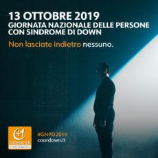 13 Ottobre Giornata Nazionale persone con sindorme Down